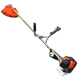 2-Cycle 43cc Gas Powered Straight Shaft String Trimmer With long Reach-- Powerful&Efficient, Red&Fashion