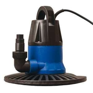 Blue Wave Dredger 1250 GPH In Ground Winter Cover Pump w/ Base