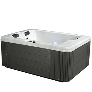 Essential Hot Tubs SS244247403 Devotion-24 Jet Hot Tub, Grey
