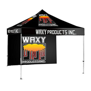 10 x 10 Custom Graphics Printed Pop up Tent Canopy Tradeshow Conference & Event Booth Custom Walls Available (10 x 10' Canopy, Wall Included)