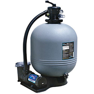 Waterway CI52253876S 22 in. Sand Filter System 2 HP Dual Speed Pump
