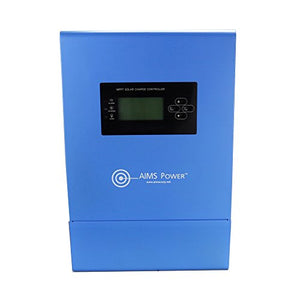 Aims Power SCC100AMPPT 100 AMP Solar Charge Controller, 12/24/36/48V