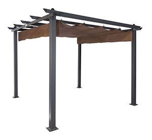 Coolaroo 454593 Outdoor Gazebo, Mocha