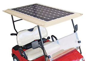 Tektrum Universal 80 watt 80w 48v Solar Panel Battery Charger Kit for Golf Cart