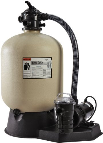 Pentair PNSD0060DO2260 Sand Dollar Aboveground Filter System with Blow-Molded Tank, 1-1/2 HP