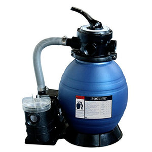 "Pooline Products 11713 12"" Sand Filter with 0.25 HP Pump"
