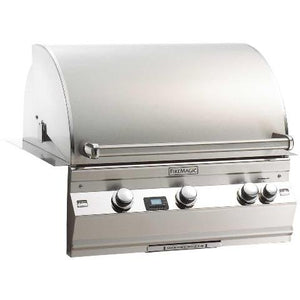 Firemagic Aurora Series 660i Built-In NG 3 Burner Grill w/ Rotisserie