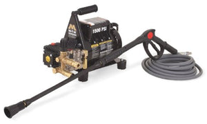 Mi-T-M CD-1502-2MUH CD Series Cold Water Electric Direct Drive, 2.0 HP Motor, 120V, 17A, 1500 PSI Pressure Washer