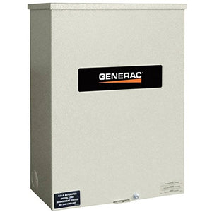 - Generac RTS Automatic Generator Transfer Switch - 200 Amp, 277/480 Volts, 3 Phase, Type N, Model# RTS-N-200K3