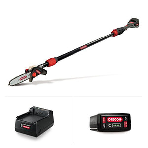 Oregon Cordless PS250-A6 Pole Saw Kit with 4.0 Ah Battery and Standard Charger