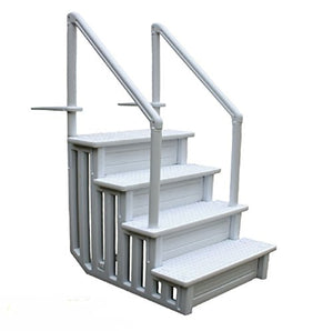 Swimming Pool Ladder Heavy Duty Step System Entry Non Slippery Above Ground
