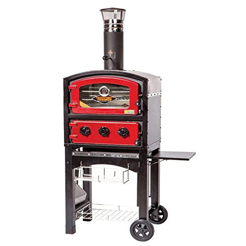 Wood and Charcoal Fired Oven and Smoker