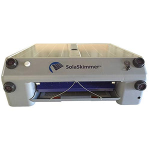 SolaSkimmer Pool Skimmer Solar-Powered Robotic Cleaner That Automatically Removes Leaves and Debris to Effortlessly Clean Your Swimming Pool, Hot Tub or Spa, Runs on Pure Solar Energy