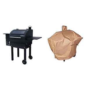 "Camp Chef Magnum Pellet Outdoor Grill + 24"" Pellet Grill Cover"