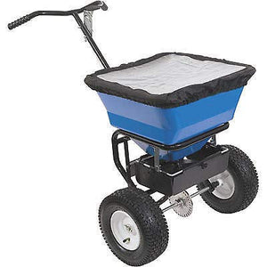 Streamline Industrial SPREADER Commercial - for Salt & Sand - Push Type/Walk Behind - 100 Lb Capacity