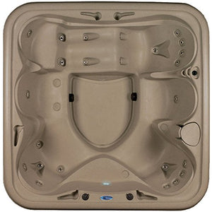 Essential Hot Tubs SS1540240300 Rainier - 24 Jet Hot Tub, Cobblestone/Espresso