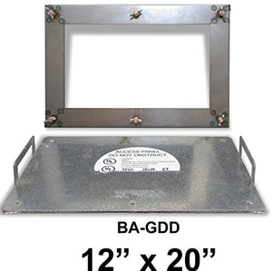 "12"" x 20"" Grease Duct Access Panel"