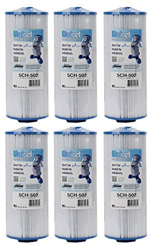Unicel 5CH-502-6 Replacement Filter Cartridge (6 Pack)