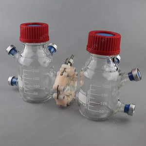 250ml MFC reactor jaw anaerobic microbial fuel cell box hoop anaerobic acid cell