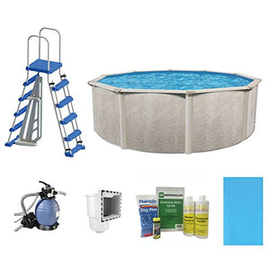"Cornelius Pools Phoenix 15' x 52"" Frame Above Ground Pool Kit with Pump & Ladder"