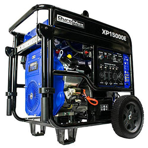 Sportsman 7,000-Watt/6,000-Watt Dual Fuel Powered Recoil Start Portable Digital Inverter Generator Kit with 50 Amp Parallel Cable