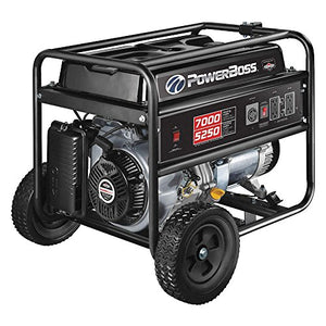 PowerBoss 30660 Gasoline Portable Generator 5250W 120/240VAC Recoil Conventional
