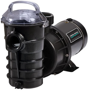 Pentair DYNII-N1-1HP Dynamo One Speed Aboveground Pool Pump with 3-Feet Standard Cord, 1 HP,115V