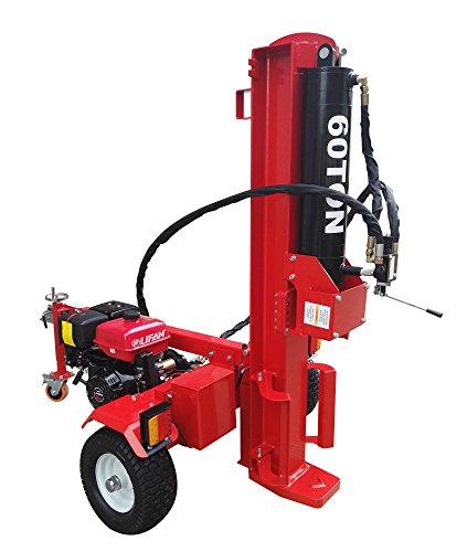 60 Ton Log Splitter Commercial Grade Wood Splitter LS60T-610MM