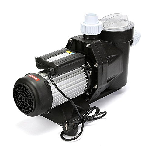 FoodKing Swimming Pool Pump 2.5HP Swimming Pool Pumps in Ground Above  Ground 2-1/2 Horsepower with Cord with Strainer High Power Flo Motor