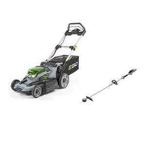 ego 20 in. 56-Volt Lithium-Ion Mower kit with 15 in. Bare Tool String Trimmer ( battery and charger NOT included)