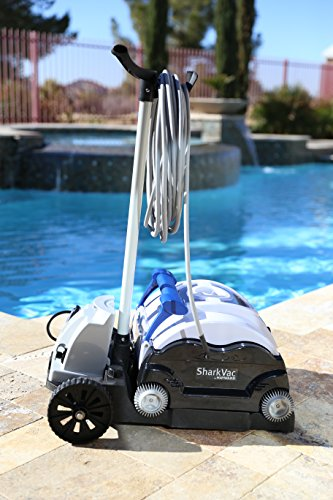 Hayward RC9742CUBY SharkVac Robotic Pool Vacuum (Automatic Pool Cleaner)