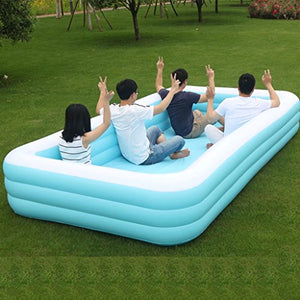 366X193X56CM Large Inflatable Pool for Kids Infants Baby Swimming Pool Children Toys Baby Bathing Pool