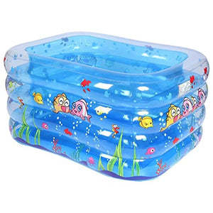 Children's Pool/Scrub Baby Folding Pool/Children's Bath Tub/Inflatable Swim Pool