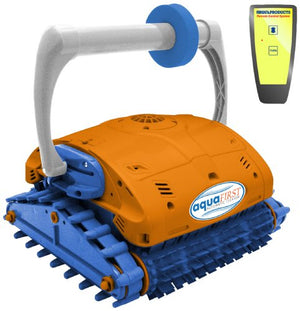 Blue Wave NE3350F Aquafirst Turbo Robotic Wall Climber Cleaner with Remote Control for In-Ground Pools