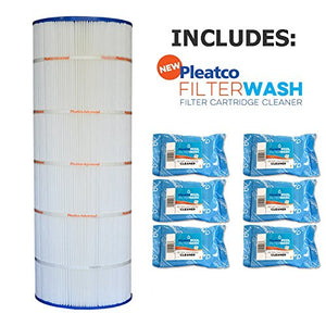Pleatco Cartridge Filter PA200S Hayward Swimclear C200S CS200XRE w/ 6x Filter Washes