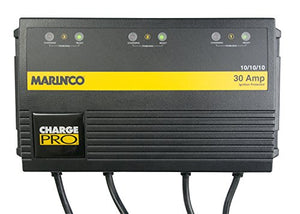 Marinco On-Board 30 Amp Battery Charger Bank