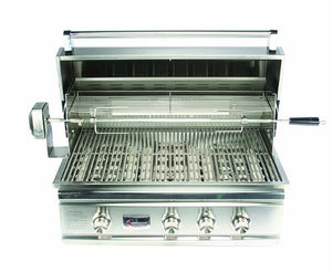 "Summerset TR 32"" Lighted Built-in Gas Grill"