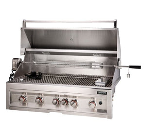 SUNSTONE SUN5B-IR-LP 5-Burner 42-Inch Infrared Propane Gas Grill