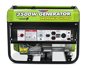 All Power America APG3535CN, 3500W Watts Propane Powered Portable Generator for Home emergency power back up, RV Generator, EPA Certified