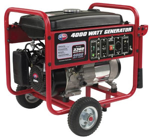 All Power America APGG4000, 4000W Watt Generator, Gas Powered Portable Generator for Home Use Power Backup, RV Standby, Hurricane Damage Restoration Power Backup, EPA Certified