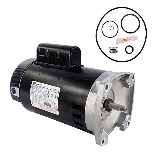 Sta-Rite SuperMax 2.5HP PHK2RAA6G-105L Replacement Motor Kit AO Smith B2840 w/GO-KIT-78