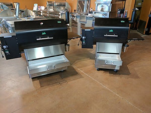 BBQ Island Green Mountain Grills Daniel Boone Smoker on Competition Cart