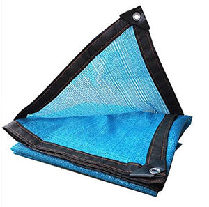 FAFZ Shading Net,Sun Mesh Shade encryption thickening UV Resistant Net Polyethylene Outdoor heat insulation net,Various Sizes sunshade sail canopy (Color : A, Size : 810m)