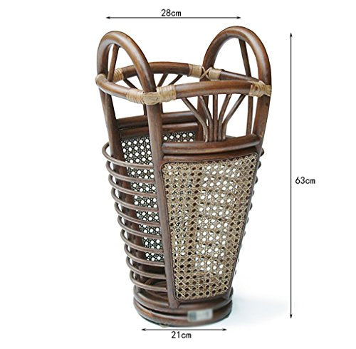 Umbrella storage Umbrella Rack Home Entrance Hall Creative Umbrella Shelf Storage Barrel Hotel Lobby Rattan Umbrella Rack Umbrella seat