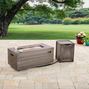 "Better Homes and Gardens. 42"" Rectangle Fire Pit - Gas"