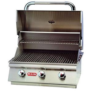 Bull Steer 3 Burner 24'' Stainless Steel Propane Grill Head & Accessory Package