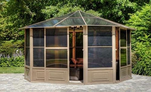 Gazebo Penguin 41212 All-Season Solarium, 12 by 12-Feet
