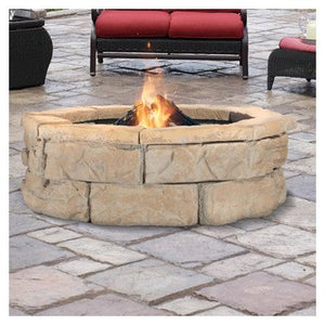 "Pantheon Brown 44"" Fire Pit"