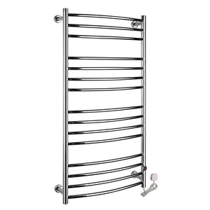 198 W Electric Plug in Heated Towel Rack, Hot Towel Warmer for Bath Heated Drying Rack, 304 Stainless Steel, Hardwired and Plug in Options,2