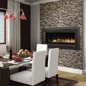 "43"" Natural Gas Electronic Ignition Linear Outdoor Vent-Free Fireplace"